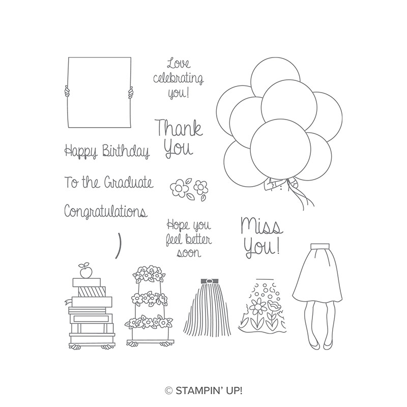 Hand Delivered Photopolymer Stamp Set 16 qty #146808 Price: $13.00